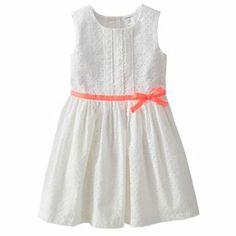 16659f6264 Carter s Eyelet Dress - Toddler Kohl s  20 Toddler Flower Girl Dresses