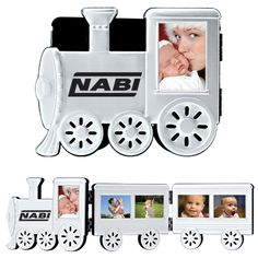 Fold-able Aluminum Train Photo Frame #holidaygift  http://promediaus.espwebsite.com/
