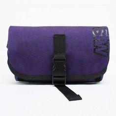 Purple Nylon Cordura Fanny Pack by stwMN on Etsy