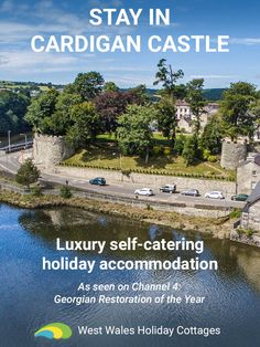 Become king or queen of Cardigan Castle with a stay in the luxury heritage accommodation.