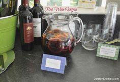 Signature Cocktail: red wine sangria recipe