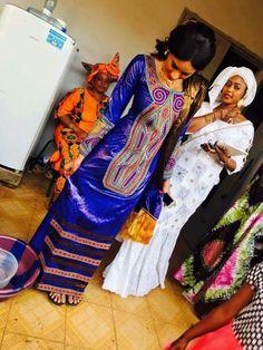Mali fashion bazin brodé ~ African fashion, Ankara, kitenge, Kente, African prints, Braids, Asoebi, Gele, Nigerian wedding, Ghanaian fashion, African wedding ~DKK