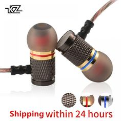 "Universe of goods - Buy ""KZ ED Special Edition Gold Plated Housing Earphone with Microphone HD HiFi In Ear Monitor Bass Stereo Earbuds for Phone"" for only USD. In Ear Monitors, Bluetooth, Neodymium Magnets, Natural Eye Makeup, Android Smartphone, Consumer Electronics, Cool Things To Buy, Plating, Headphones"