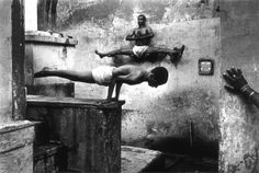 Shaolin Monks strive for quiescence of body, mind and intention.  Source: http://memolition.com/2014/01/30/shaolin-monks-training-18-pictures/