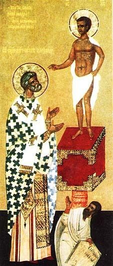 """St. Peter of Alexandria, Roman Catholic Priest and Martyr. He is called the """"seal and complement of martyrs"""" as he was the last Christian beheaded by Roman authorities. Feastday: November 25"""