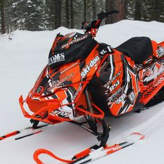Image Gallery - Custom Sled Wraps from ArcticFX Graphics
