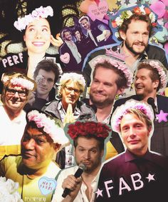 I'm in love with Hannibal's cast.