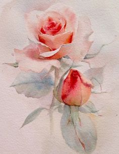 What is Your Painting Style? How do you find your own painting style? What is your painting style? Watercolor Rose, Watercolour Painting, Painting & Drawing, Watercolors, Watercolor Video, Arte Floral, Painting Inspiration, Flower Art, Drawings