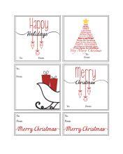 Free Printable Christmas Gift Tags WallQuotes.com