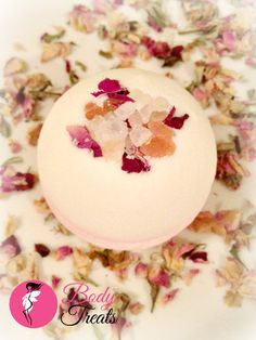 Himalayan Chiffon Bath Bomb Fizzy - Home Spa - Himalayan Pink Salts - Bath Soak - Vegan - 5oz