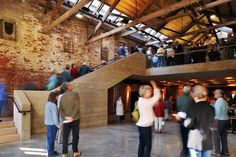 Dream project adaptive reuse of old masonry building