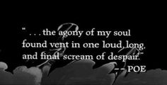 The Pit and the Pendulum by Edgar Allan Poe>>>> woah. Gothic Quotes, Dark Quotes, Me Quotes, Qoutes, Funny Quotes, Edgar Allen Poe Quotes, Edgar Allan Poe, Dark Poetry, Literary Quotes