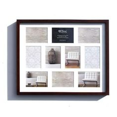BROWN MULTI APERTURE FRAME - Trade prices,Next Day Delivery,Bulk Discount