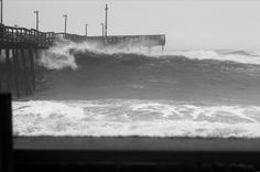 High surf! | OBX Connection Message Board/ Avalon Pier 12/9/14