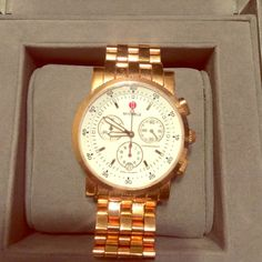 Michele Rose Gold Watch Slightly used Rose Gold Watch. Goes perfect with everything. Michele Jewelry