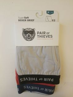 Xlarge 1 Men/'s New Mossimo Christmas Boxer Brief Made in Thailand