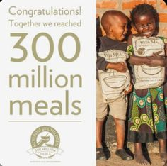 Great job everyone! More than 300 million meals have been donated to malnourished and hungry children around the world. Galvanic Spa, Hungry Children, Anti Aging Skin Care, Little Ones, Charity, Nu Skin, I'm Happy, Skin Products, How To Plan
