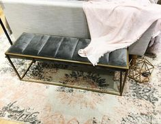 entryway benches OR master bedroom bench
