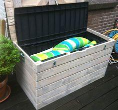 Storage bench within a storage bench.