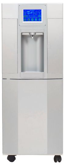 The EcoloBlue 30 water cooler harvests water directly from the air.