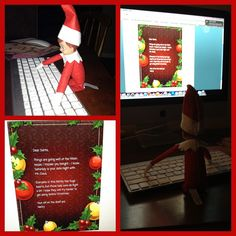 Note to Santa from Elf on the Shelf by ShannonHilton, via Flickr