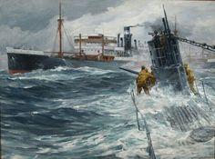 Tramp steamer vs u-boat