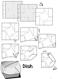 How to make a origami disk | Xinblog
