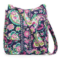 Vera Bradley Mailbag Crossbody Saddle Hipster Brand new with retail tag! Crossbody Hipster Mailbag with flap in Petal Paisley pattern. *This listing is for 1 bag.* LKing for more Vera Bradley, visit my closet!PRICE IS FIRM Vera Bradley Bags Crossbody Bags