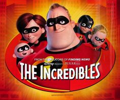When I first saw this movie all I could think was wow. The animation in the Incredibles is actually one of the many reasons I really wanted to get into animation. The Incredibles is a pixar film. It was done in bright colors and the plot is one of a kind. Pixar Movies, Kid Movies, Family Movies, Great Movies, Disney Movies, Movies To Watch, Movie Tv, Animation Movies, English Animated Movies
