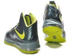http://www.asneakers4u.com Nike Lebron 10 XDR Black/Fluorescent Green