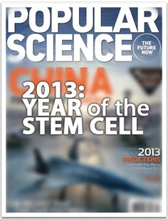"""2013: The Year of the Stem Cell: 2013 was hailed """"The Year of the Stem Cell"""" by The Atlantic. Another publication, Popular Science followed suit shortly after, both pointing out that great strides in stem cell science are being made now thus giving more people access to stem cell related health technologies.   On March 1, 2013, Stemtech launched a major campaign """"Stem Cells for All"""" to help educate the world about stem cells and support the growing awareness."""