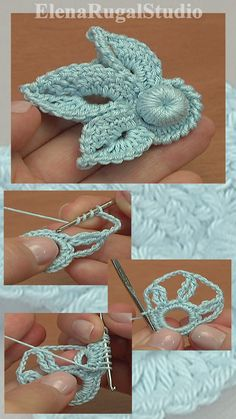Irish Crochet Shamrock Free Pattern 42 Crochet shamrock was made with Crochet Hook mm (which is US standard) or mm and with yarn: Cotton, Crochet Brooch, Freeform Crochet, Crochet Motif, Crochet Flowers, Crochet Leaf Patterns, Crochet Thread Size 10, Crochet Embellishments, Russian Crochet, Free Pattern
