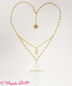 Cecilia Cross necklace