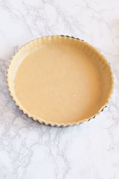 Tart and Quiche Crust