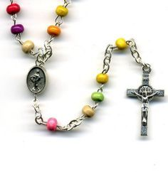Rosaries. I guess they can be colourful, too?? Never really thought about that... I like this one.