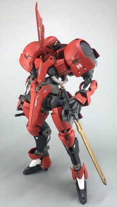 1/100 Grimgerde Knight - Customized Build Modeled by ムルチ