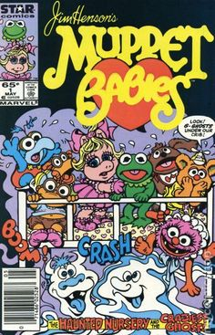 Excited for the new Muppets movie! Children's Comics, Star Comics, Jim Henson Puppets, Comic Book Covers, Comic Books, Childhood Characters, Cute Reptiles, Muppet Babies, Horror Posters