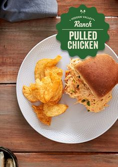 Crack chicken that packs a punch. Creamy, spicy, deliciously ranchy. Recipe: http://hiddnval.ly/RgnyNk