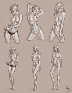 +drawing the female form