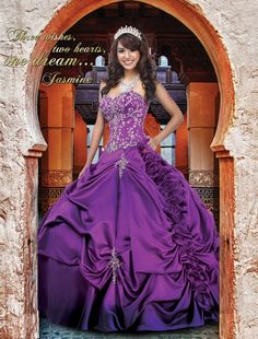 3e35954d04be0 Our Princess Jasmine Gown 41006 Disney Royal Ball Quinceanera.