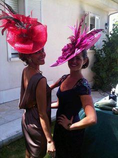 invitadas Fascinator Hats, Fascinators, Headpieces, Melbourne Cup Fashion, Royal Ascot Hats, Derby Dress, Crazy Hats, Derby Day, Kentucky Derby Hats