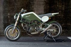 Monster Tracker: A custom Ducati M900 from Tokyo-based Speedtractor