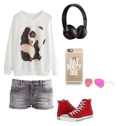 """""""s108"""" by aida-1999 ❤ liked on Polyvore featuring LTB by Little Big, Converse, Casetify, Beats by Dr. Dre and Ray-Ban"""