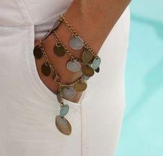 BOHO Chic Fringed Necklace / Wrap Bracelet