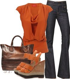 """""""Pumpkin"""" by styleofe on Polyvore"""