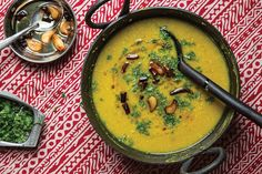 Red Lentils With Green Mango (Malika Masoor Dal)