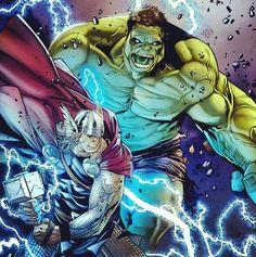 Mark Ruffalo's Hulk rumored to smash his way back to the Marvel Cinematic Universe in Thor: Ragnarok Hulk Marvel, Ms Marvel, Odin Marvel, Hulk Vs Thor, Marvel Comics Art, Marvel Heroes, Cosmic Comics, Deadpool Wolverine, Marvel News
