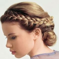 Grecian goddess hair. Need help with any aspects of wedding planning and styling? Visit www.rosetintmywedding.co.uk #weddinghair
