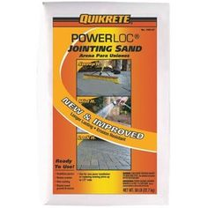 Quikrete PowerLoc Jointing Sand