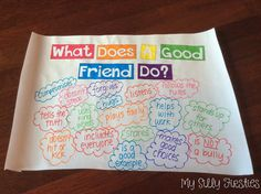 Amanda - I would use this to have my students talk about how they can help each other be happy and healthy in our classroom